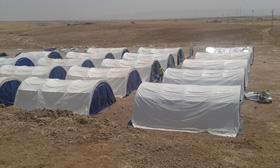 デバガ(Debaga)緊急支援 難民キャンプ